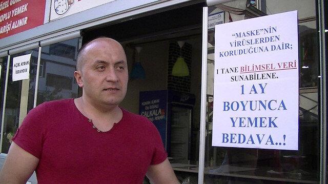 35 defa maske cezası yedi: Dükkanına astığı yazı şaşkına çevirdi