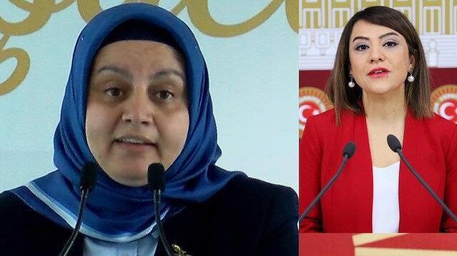 CHP ve HDP'liler Meclis'teki 'kadın hakları' görüşmelerinde kadın baro başkanının üstüne yürüdü