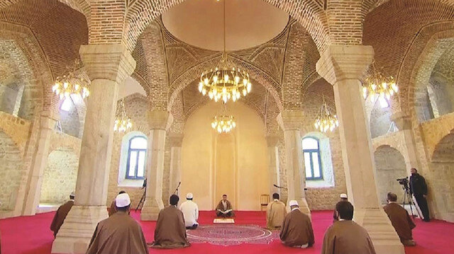 Bu camide dua edecek
