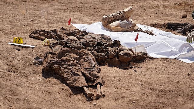 Irak'ta DEAŞ'ın katlettiği 500'den fazla kişinin cesedi bulundu