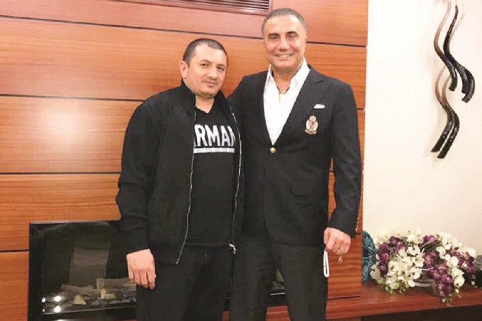 Nadir Salifov ve Sedat Peker
