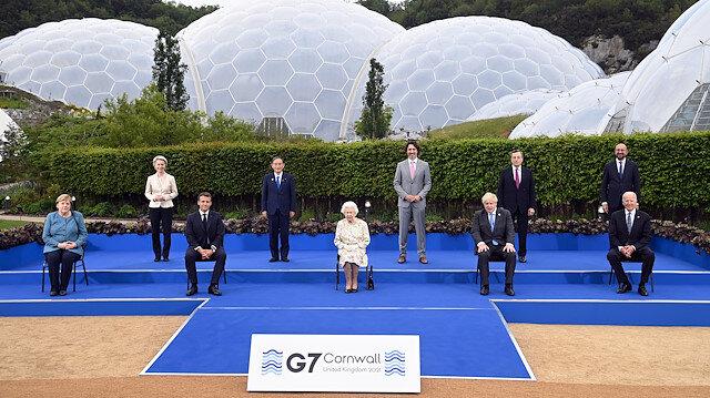 Türkiye'de koltuk krizi çıkartan Avrupa Komisyonu Başkanı Leyen G7'de ayakta kalmayı sorun etmedi