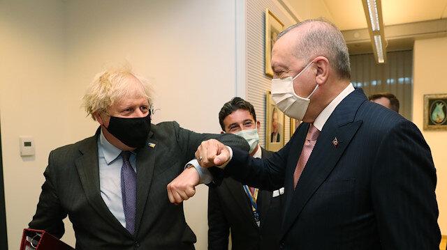 Erdoğan ve Johnson NATO Zirvesi'nde görüştü