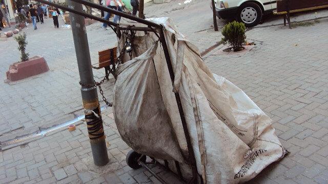 Kağıt toplayıcısı kılığında hırsızlık yapan zanlılardan biri tutuklandı