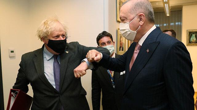 İngiltere Başbakanlık Ofisi: Erdoğan ile Johnson iki ülke arasındaki ilişkiyi ticaret ve savunma dahil birçok alanda derinleştirmede anlaştı
