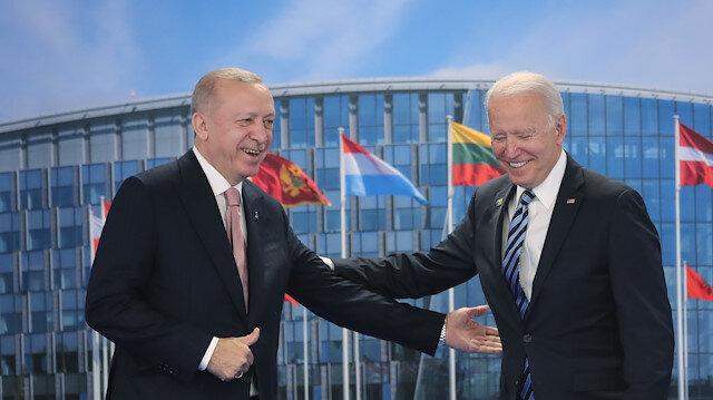 Cumhurbaşkanı Erdoğan - Biden görüşmesi sona erdi