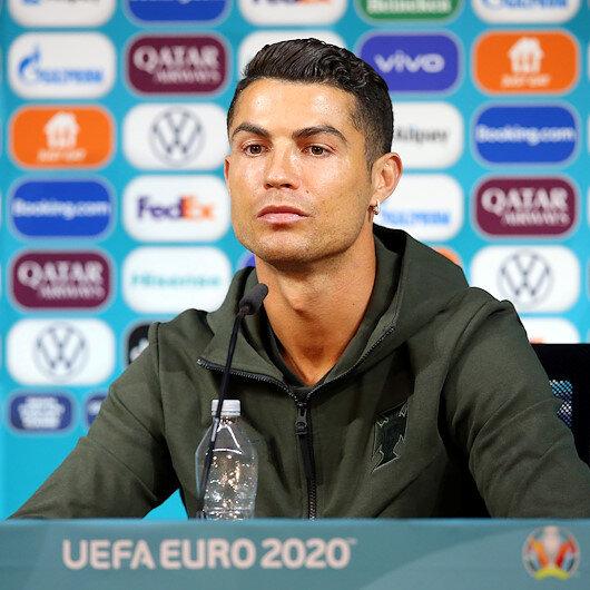 Cristiano Ronaldodan Coca-Cola tepkisi: Su için