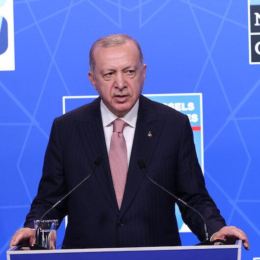 Cumhurbaşkanı Erdoğan: PKK/YPGye verilen destek artık sonlandırılmalı