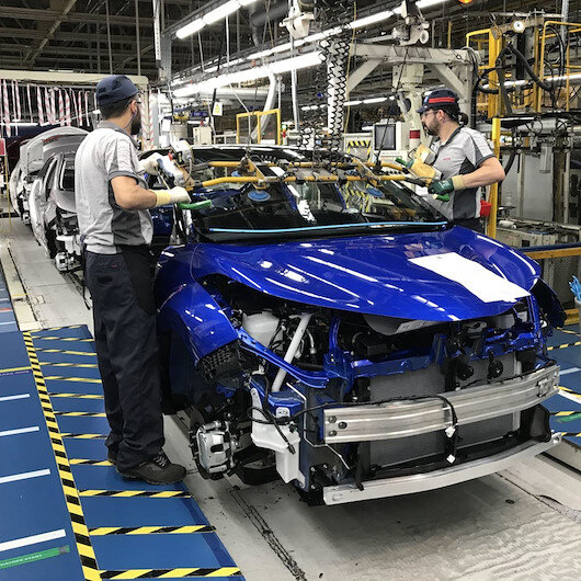 Beş ayda 532 bin araç ürettik
