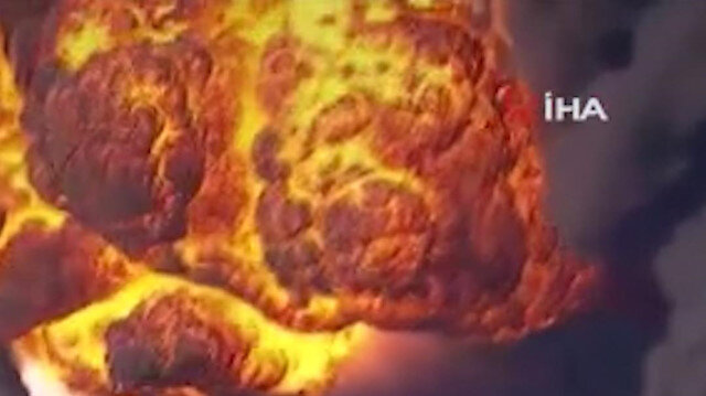 ABD'de kimyasal madde üretilen tesiste şiddetli patlama: Bölge sakinlerine tahliye emri verildi