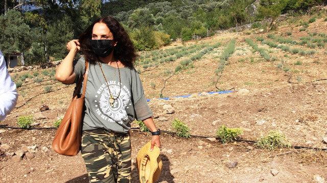 Şehir hayatından kaçan sanatçı Sertap Erener köy yaşantısına geçti
