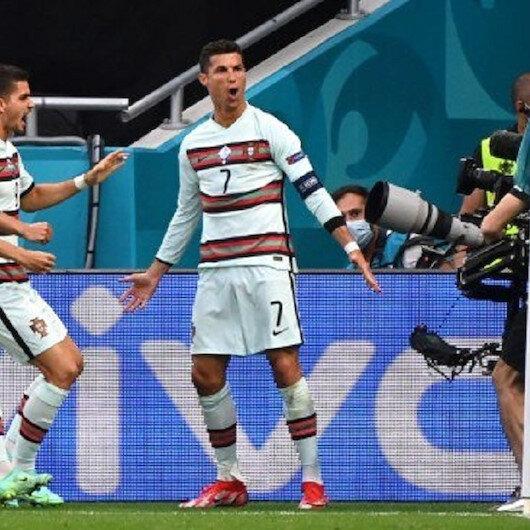 رونالدو يقود البرتغال للفوز على المجر ويدخل التاريخ