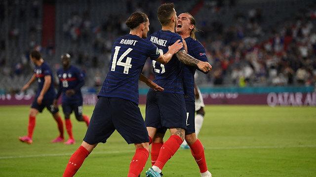 Erken finalde kazanan Fransa oldu