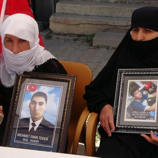 Muşlu annelerin HDP isyanı