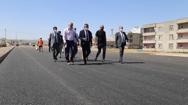 Başkan vekili Hacıbektaşoğlu, asfalt çalışmalarını yerinde inceledi