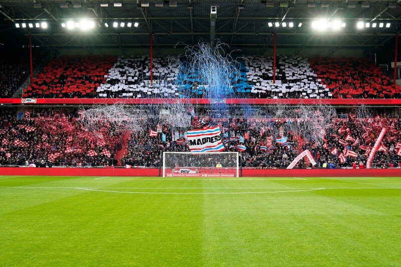 PSV'nin iç saha maçlarını oynadığı Philips Stadyumu