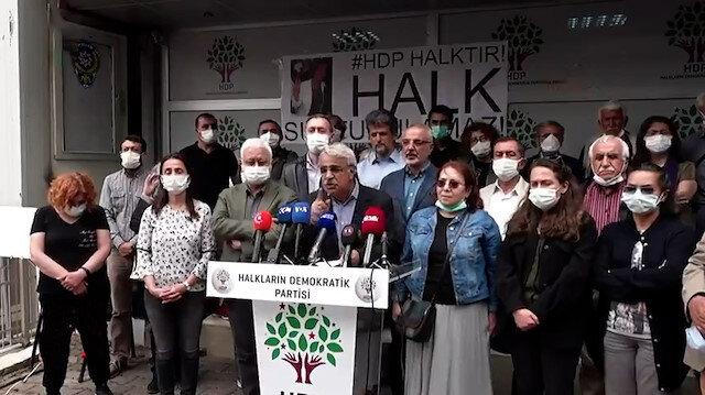 İzmir'in göbeğinde HDP'lilerden