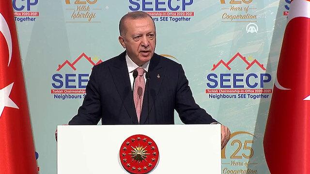 Cumhurbaşkanı Erdoğan: Bölgedeki siyasi sorunlar için diyalogdan başka çözüm yok