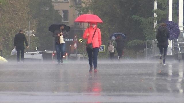 İstanbul ve Trakya'da yarın kuvvetli yağış bekleniyor