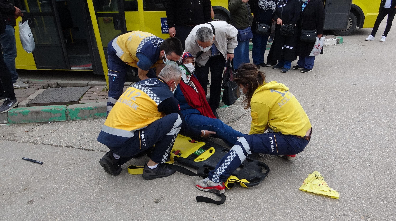 Kazada 5 kişi yaralanırken, otomobil sürücüsü Yalçın Çakır (32) gözaltına alındı.