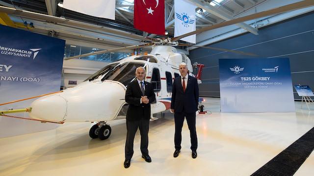 Milli helikopter Gökbey'den bir başarı daha: Tasarım Organizasyonu Onay Belgesi verildi
