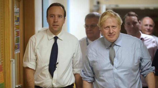 İngiltere Başbakanı Johnson'un Sağlık Bakanı hakkındaki küfürlü ifadesi sızdırıldı: Tamamen umutsuz vaka