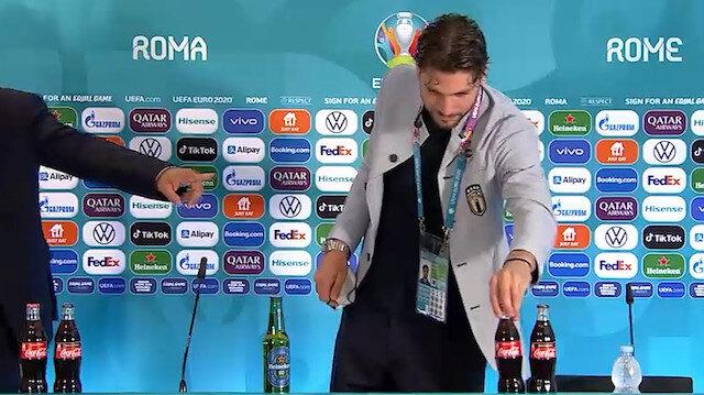 Ronaldo öncü oldu: Futbolcuların zararlı içeklere tepkisi sürüyor