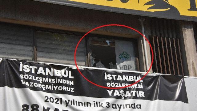 HDP İzmir il binasına silahlı saldırı: 1 ölü