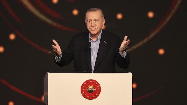 Cumhurbaşkanı Erdoğan: Pandemi döneminde 158 ülkeye sağlık malzemesi gönderdik