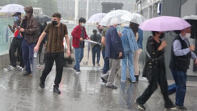 İstanbul ve Trakya için çok kuvvetli yağış uyarısı