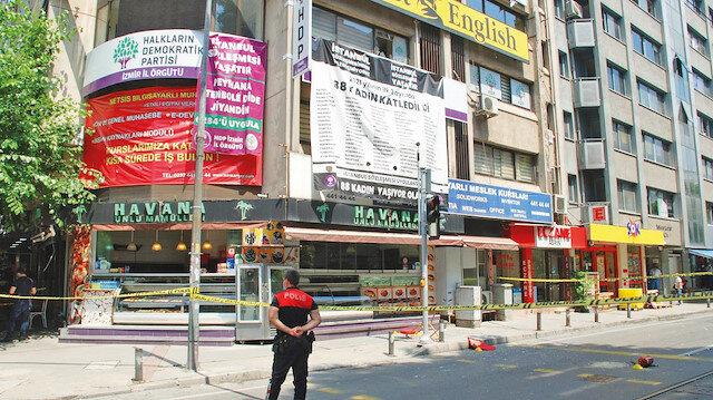 İzmir'de provokasyon: HDP binasına saldırı