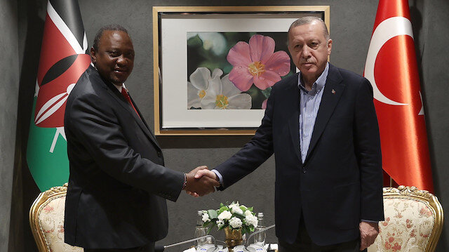 Cumhurbaşkanı Erdoğan devlet liderleriyle Antalya'da bir araya geldi