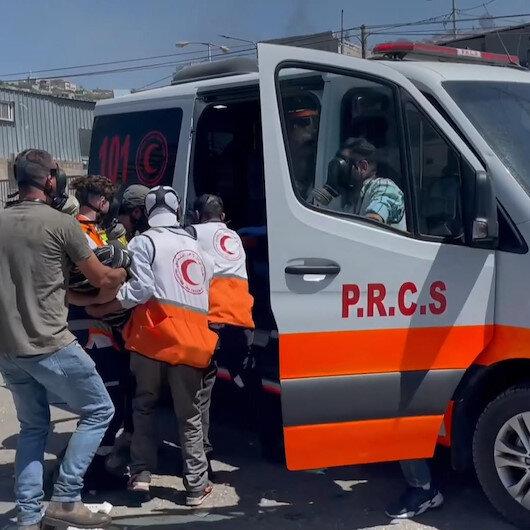 İşgalci İsrail güçleri yasa dışı Yahudi yerleşim birimlerini protesto eden Filistinlilere saldırdı: 5 yaralı