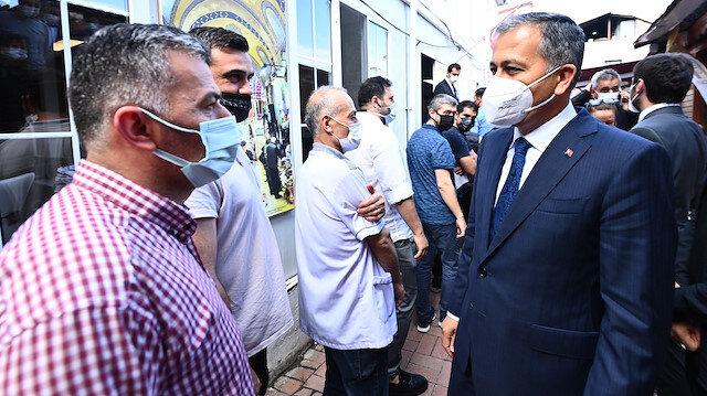 İstanbul Valisi Yerlikaya: Aşı seferberliğinde İstanbul'umuz yeni bir rekor kırdı