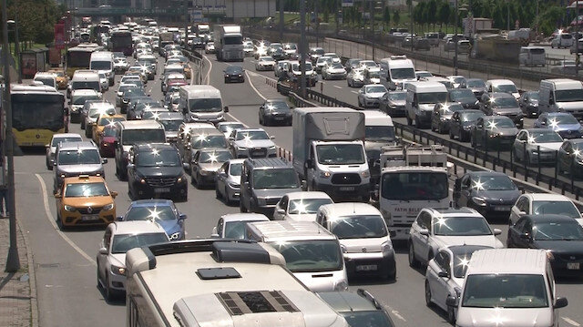 Kısıtlamasız Cumartesi gününde trafik yoğunluğu: Yüzde 72 seviyesine çıktı