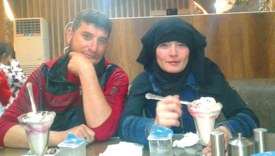 Rana Menfouh ve eşi Mahmoud el-Hassan