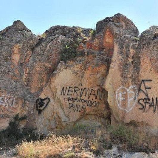 Kapadokya'nın yapısını bozanlara 200 bin lira ceza