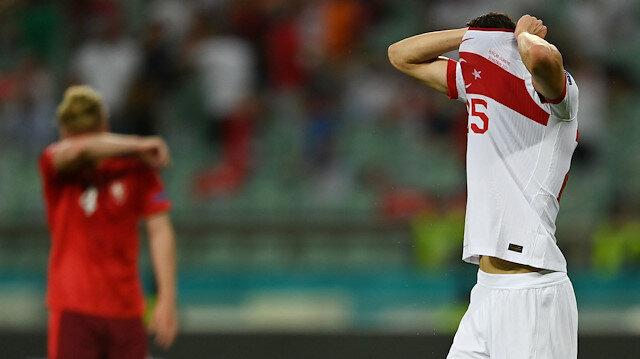 EURO 2020'de büyük hüsran: Sıfır çektik