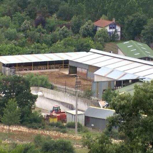 İYİ Partili Lütfü Türkkanın kaçak çiftliği tahliye ediliyor