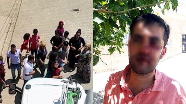 Mardin'de kaçak ihbarını inceleyen elektrik dağıtım ekibine saldırı