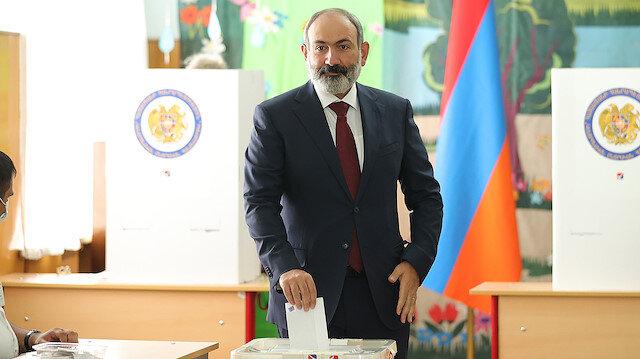 Ermenistan'da seçim: Paşinyan'ın partisi resmi olmayan ilk sonuçlara göre kazandı
