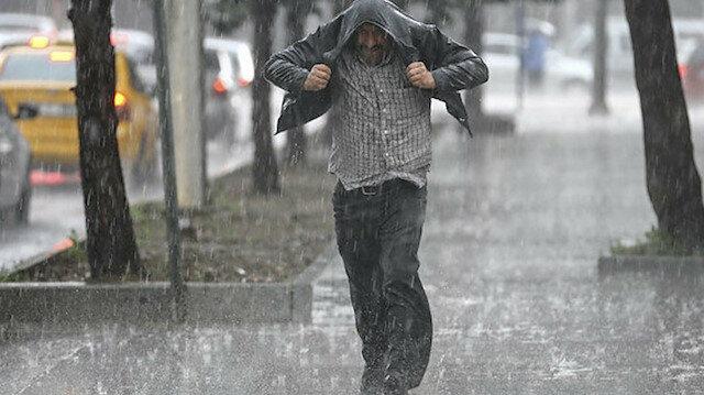 Meteoroloji öğle saatlerini işaret edip uyardı: Kuvvetli yağacak!
