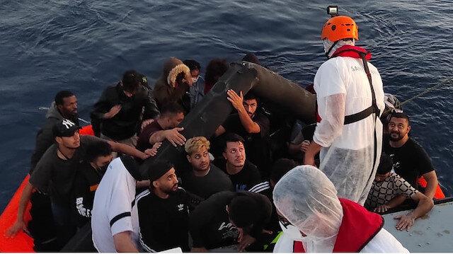 Yunanistan yine ölüme itti: 73 göçmen yakalandı, 51 göçmen de kurtarıldı