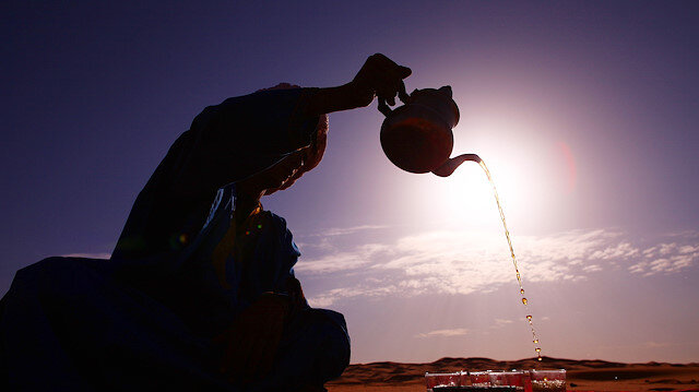 Pakistan'da çay seramonisi