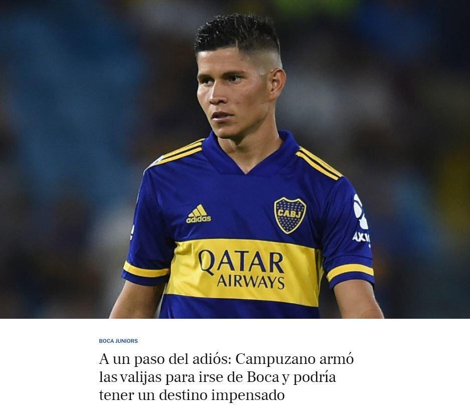 Arjantin basınında yer alan haber