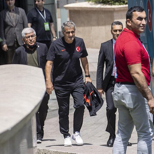 EURO 2020ye veda eden A Milli Futbol Takımı yurda dönüyor