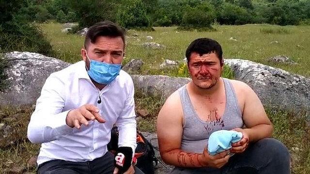 İYİ Partili Lütfü Türkkan'ın korumaları gazeteciye saldırdı