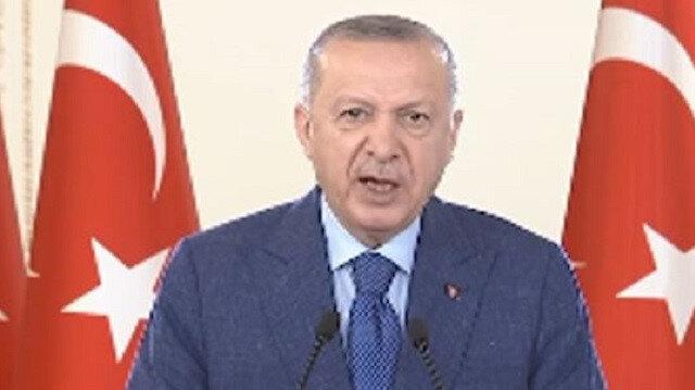 Cumhurbaşkanı Erdoğan: Yerli aşı milletimizle birlikte tüm insanlığın aşısı olacak