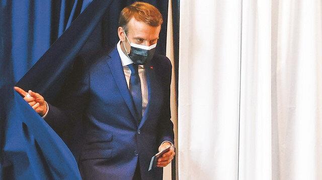 Macron'a sandıkta da tokat: Barajı kılpayı geçebildi