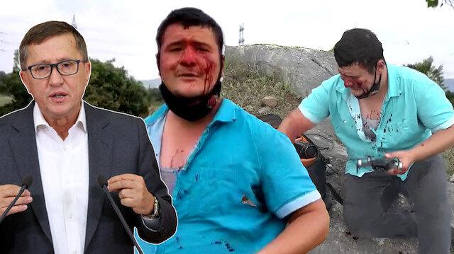 Korumaları gazeteciye saldıran İYİ Partili Türkkan'dan açıklama: Üzüntü içindeyim takipçisi olacağım